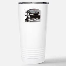 Custom Personalized Cop Stainless Steel Travel Mug