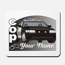 Custom Personalized Cop Mousepad