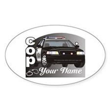 Custom Personalized Cop Decal