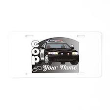 Custom Personalized Cop Aluminum License Plate