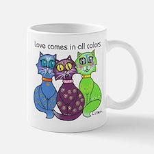 """Cat Colors"" Mug"
