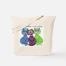 """""""Cat Colors"""" Tote Bag"""