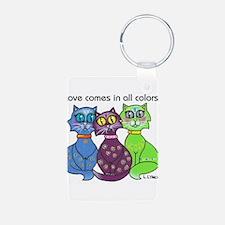 """Cat Colors"" Keychains"