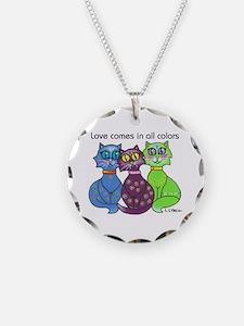 """""""Cat Colors"""" Necklace"""