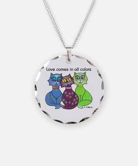 """Cat Colors"" Necklace"