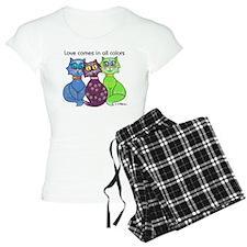 """Cat Colors"" Pajamas"