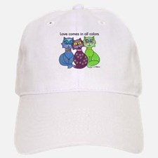 """Cat Colors"" Baseball Baseball Cap"