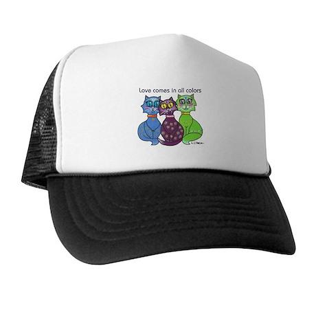 """Cat Colors"" Trucker Hat"