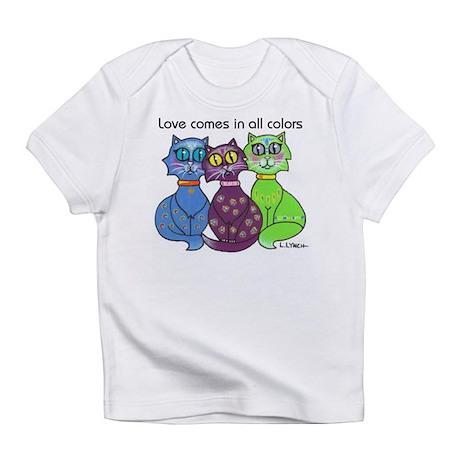 """""""Cat Colors"""" Infant T-Shirt"""