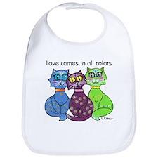 """""""Cat Colors"""" Bib"""