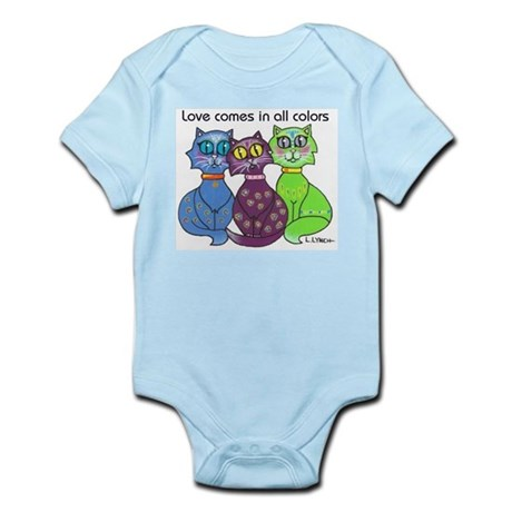 """Cat Colors"" Infant Bodysuit"