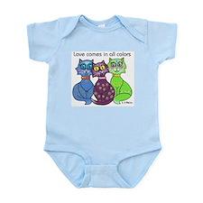"""""""Cat Colors"""" Infant Bodysuit"""