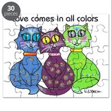 """Cat Colors"" Puzzle"