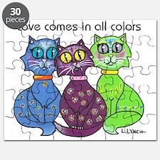 """""""Cat Colors"""" Puzzle"""