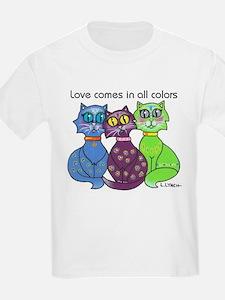 """""""Cat Colors"""" T-Shirt"""