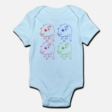 MINI PIG Infant Bodysuit