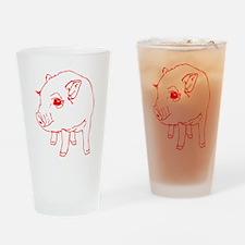 MINI PIG Drinking Glass