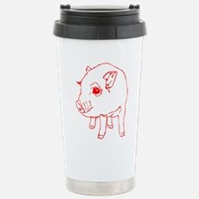 MINI PIG Stainless Steel Travel Mug