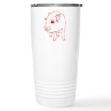 MINI PIG Travel Coffee Mug
