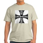 Short Course Swimmers Ash Grey T-Shirt