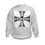 Short Course Swimmers Kids Sweatshirt