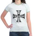 Short Course Swimmers Jr. Ringer T-Shirt