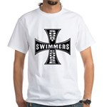 Short Course Swimmers White T-Shirt