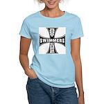 Short Course Swimmers Women's Pink T-Shirt