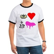 I Heart Teacup Pigs T
