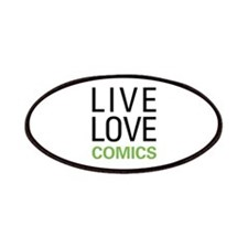 Live Love Comics Patches