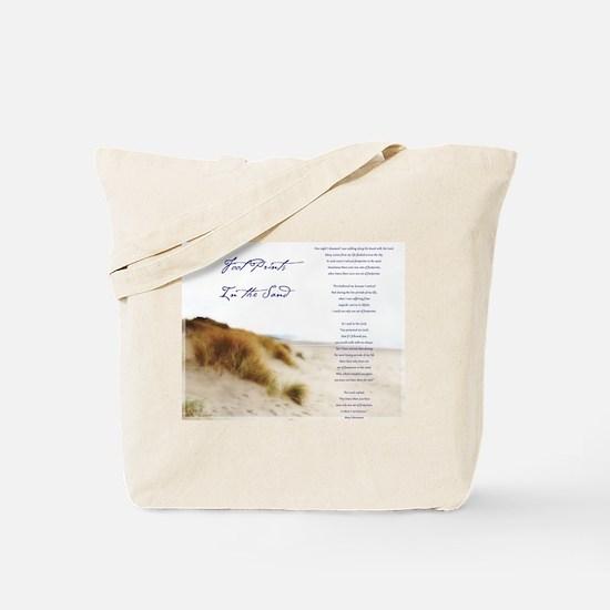 Unique Footprint Tote Bag