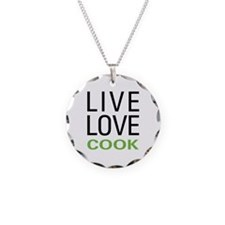Live Love Cook Necklace