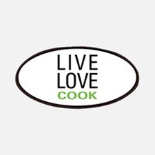 Live Love Cook Patches