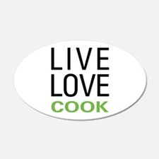 Live Love Cook Wall Decal