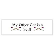 My other Car is a Scull Bumper Bumper Bumper Sticker