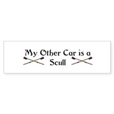 My other Car is a Scull Bumper Bumper Sticker