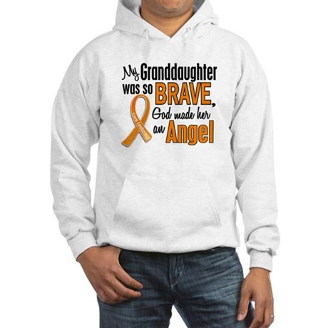 Granddaughter Leukemia Shirts and Apparel Hooded S