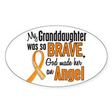 Granddaughter Leukemia Shirts and Apparel Decal
