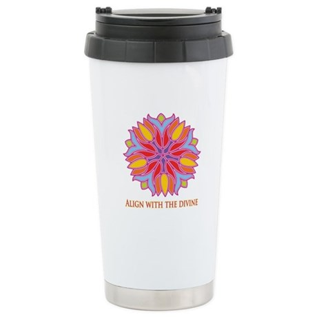 Align with the Divine Stainless Steel Travel Mug