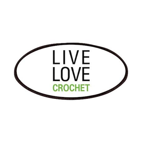 Live Love Crochet Patches