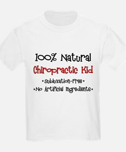 Chiropractic Kid Kids T-Shirt