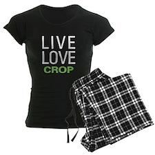 Live Love Crop Pajamas
