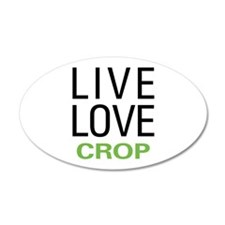 Live Love Crop Wall Decal
