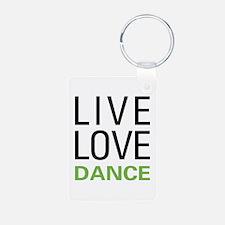 Live Love Dance Keychains