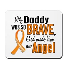 Daddy Leukemia Shirts and Apparel Mousepad