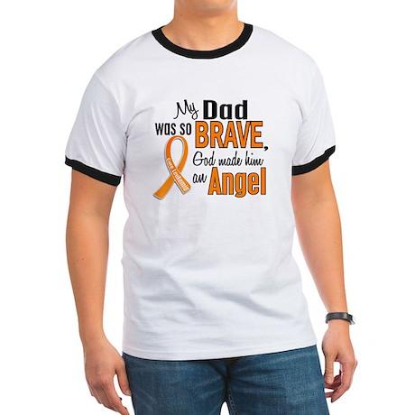 Dad Leukemia Shirts and Apparel Ringer T