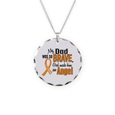 Dad Leukemia Shirts and Apparel Necklace
