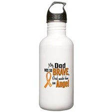 Dad Leukemia Shirts and Apparel Water Bottle
