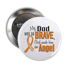 "Dad Leukemia Shirts and Apparel 2.25"" Button"