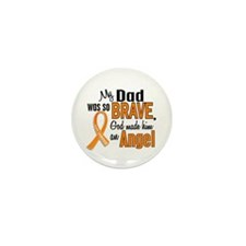 Dad Leukemia Shirts and Apparel Mini Button (10 pa